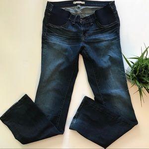 J Brand Maternity Straight Leg Jeans
